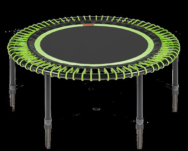 Image of   Bellicon - verdens bedste trampolin (grøn-sort med foldeben)