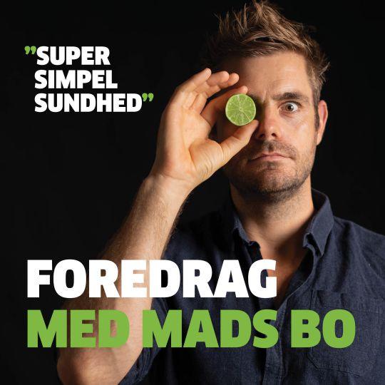Image of   Foredrag med Mads Bo d. 24 marts i Slagelse