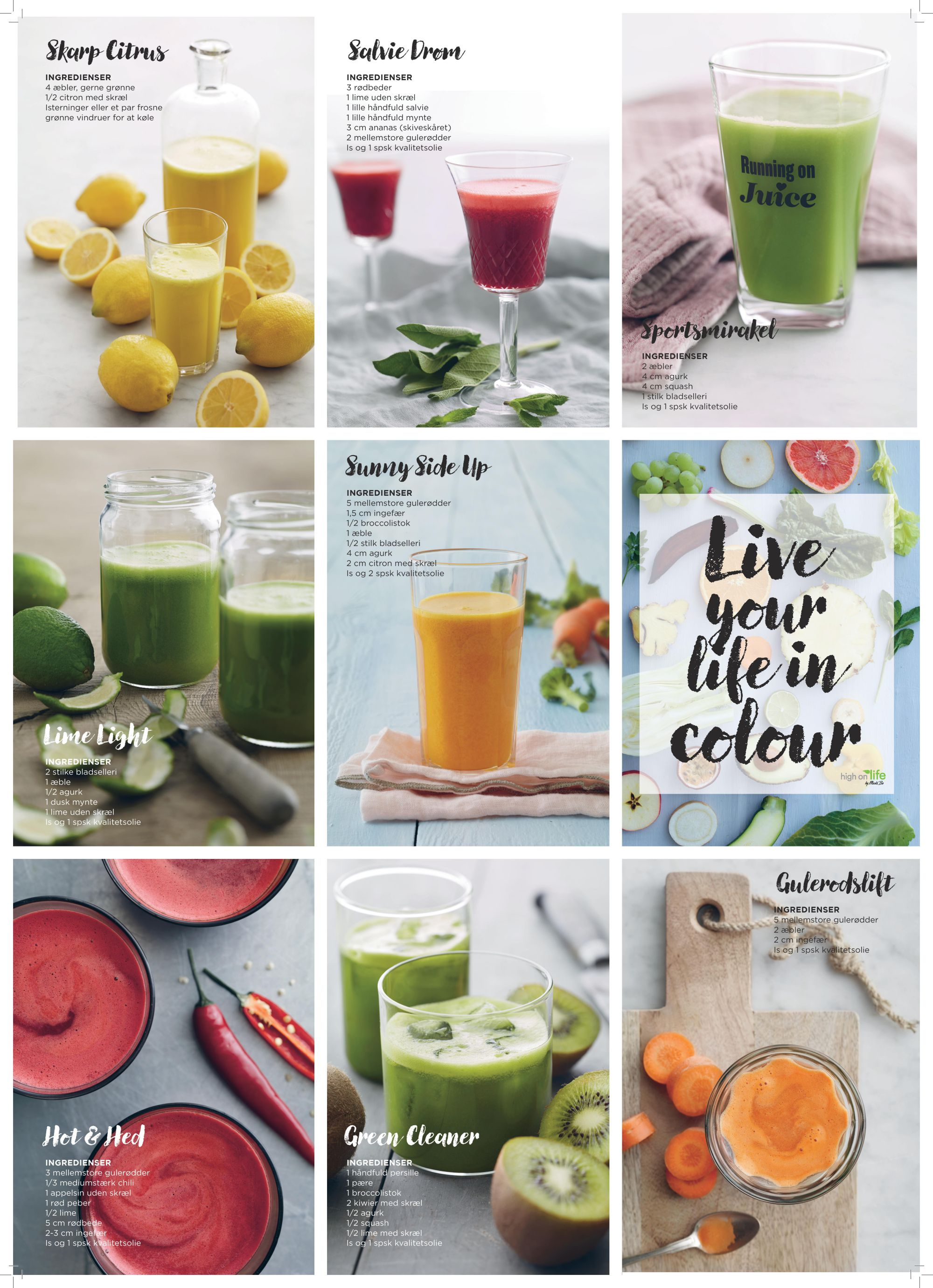 Image of Saftig juiceplakat