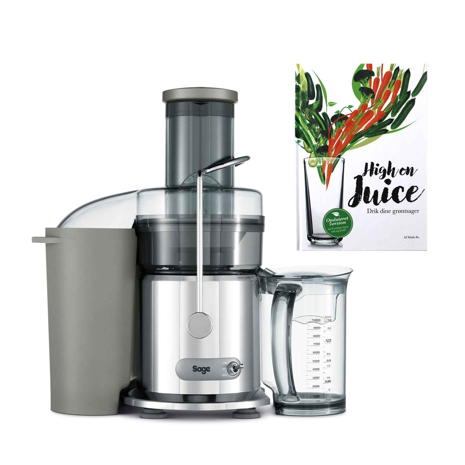 Image of   Sage BJE410 - The Nutri Juicer inkl. High on Juice
