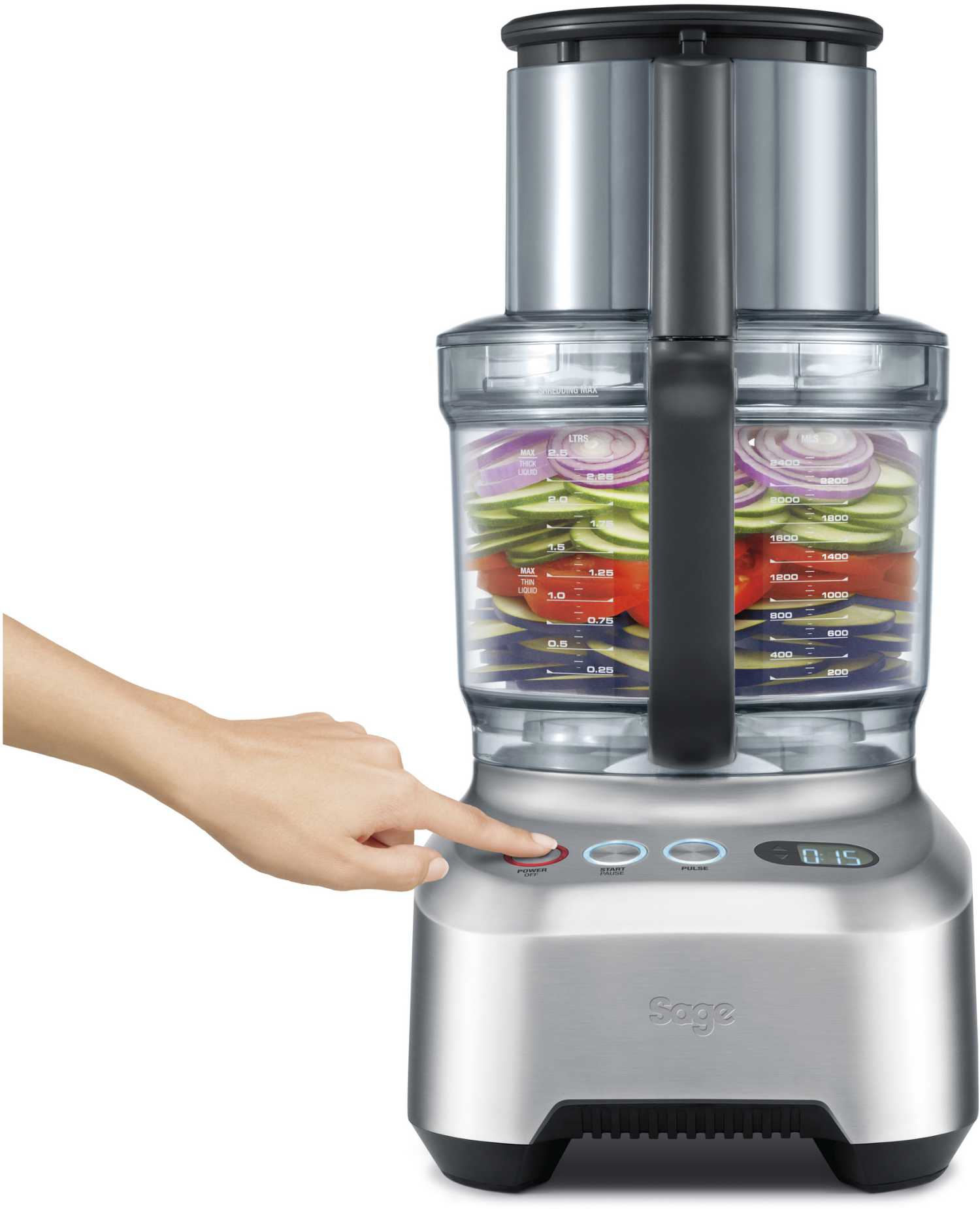 Image of   Sage BFP 800 - The kitchen Wizz Pro - foodprocessor