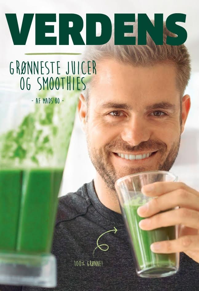 Image of   Verdens Grønneste Juicer og Smoothies af Mads Bo